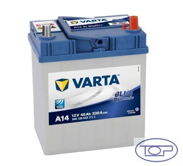 VARTA A14 Blue Dynamic Asia 540 126 033
